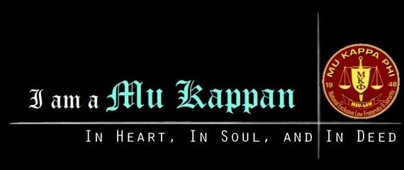 I am a Mu Kappan
