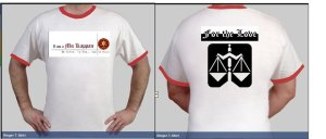MKP white shirt design