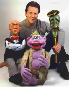 Jeff Dunham and puppets